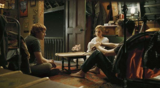 Haris, Ronis, Hermiona