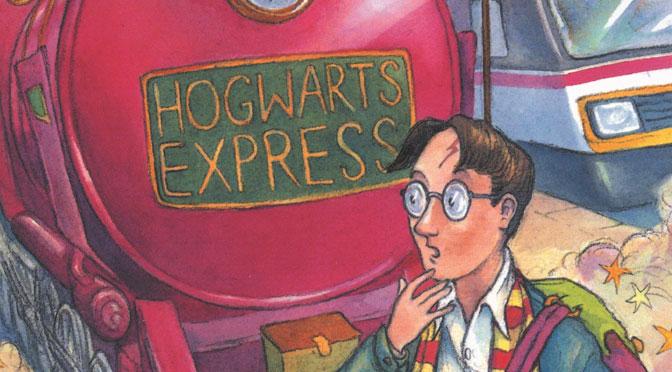 """Pirmo """"Hario Poterio"""" knygų leidimas"""