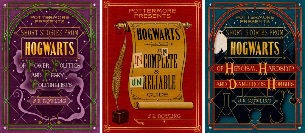 """""""Pottermore dovanos"""" viršeliai"""