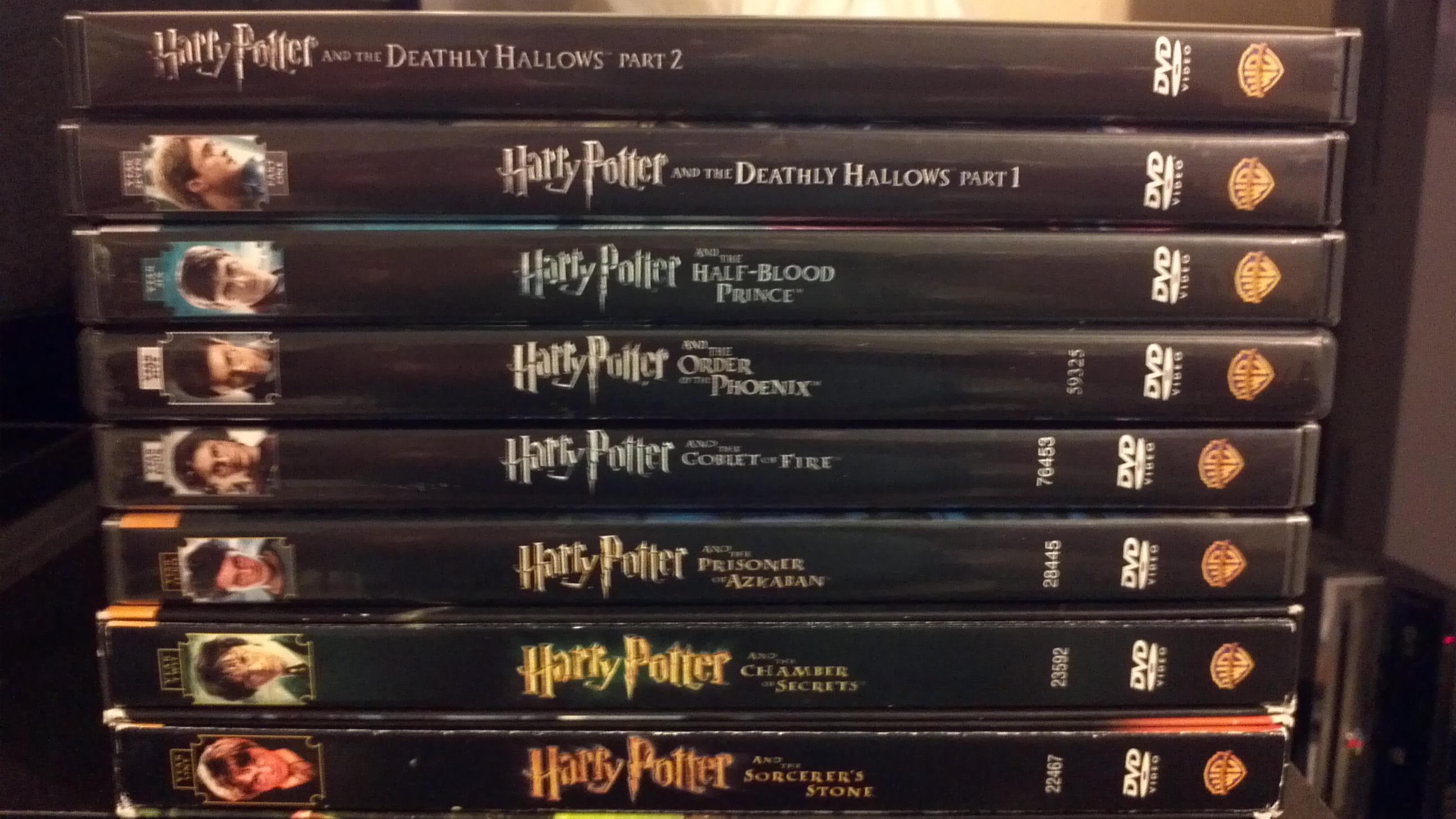 """""""Hario Poterio"""" filmų maratonas"""